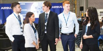 Airbus takes on record number of apprentices