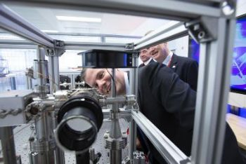 Laser specialist opens quantum research facility