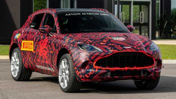 Aston Martin's SUV undergoes extensive tests