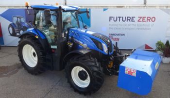 Biomethane-powered tractor developed