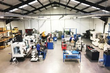 Engineering firm expands tool-room