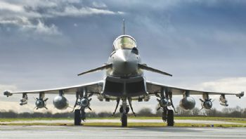 Advanced Typhoon delivered to the Royal Air Force