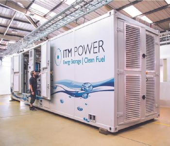 ITM Power in hydrogen joint venture