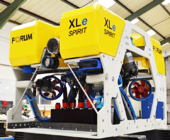 Forum's latest  ROV completes  sea trials