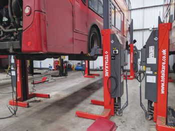 GTS invests in heavy-duty lift equipment