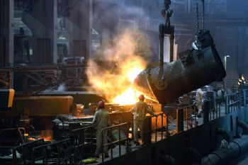 High electricity prices threaten steel sector
