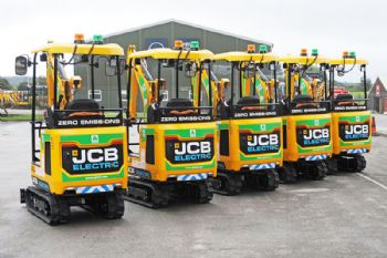 JCB wins major order for electric mini-digger