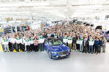 Bentley Flying Spur production underway