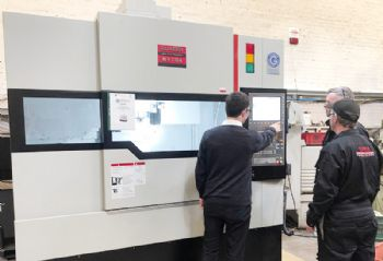 Dundee firm makes large machine tool investment