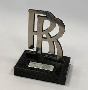 Rolls Royce 'Trusted to Deliver Excellence' award