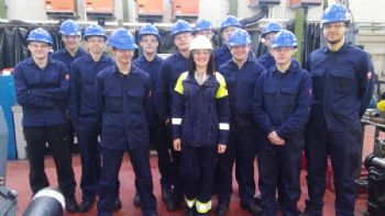 Sheffield Forgemasters recruits new apprentices