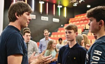'Spaceman' Brian Cox on mission 'to inspire'