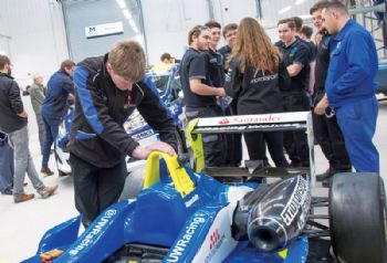 Shropshire pupils wanted for 'F1 in Schools'