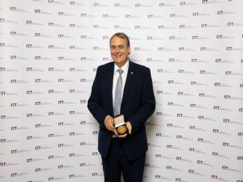 MTA president honoured by IET