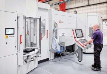 Automated five-axis production at Stoneswood