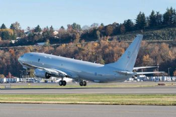 Boeing delivers first Poseidon to UK's RAF