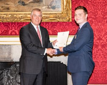 Royal seal of approval for Coventry apprentice