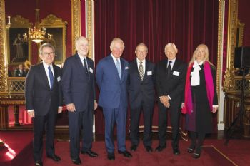 Inventors of GPS honoured at Buckingham Palace