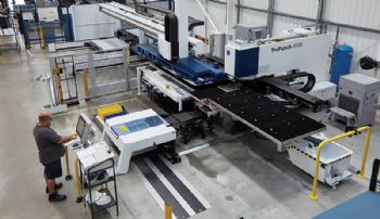 New sales record for Trumpf UK