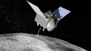NASA selects site for asteroid sample collection