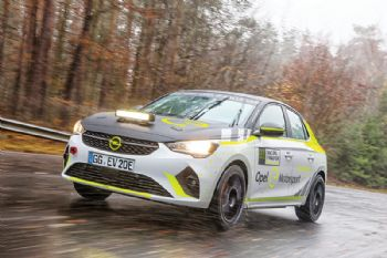 Corsa-based electric rally car now in development