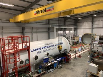 Forum Energy upgrades its hyperbaric testing plant