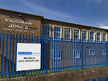Vaughan Jones Socket Screws Ltd relocates