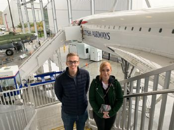 AMRC apprentices tour Boeing in USA