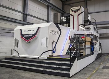 Large-capacity German-built machining centres
