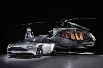 Airbus and Aston Martin unveil first collaboration