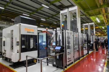 Mazak posts strong machine orders