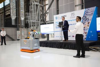 Schunk plays gripping role in AMRC Wales opening