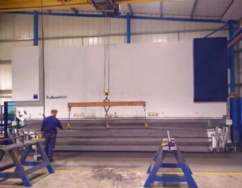UK's largest Trumpf bending machine installed