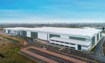 Work underway on JLR's logistics Solihull centre