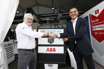 ABB and Porsche in new partnership