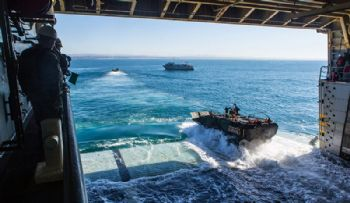 US Marine Corps orders more amphibious vehicles