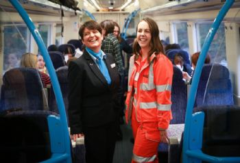 Britain's  'female operated' passenger service