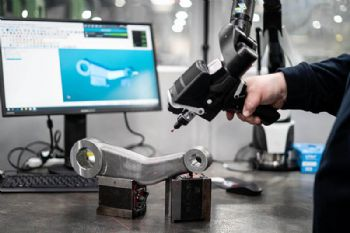 Reaping the benefits of a 3-D scanning arm