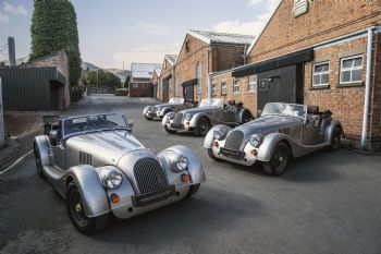 First Morgan Plus 4 70th anniversay edition models