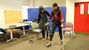 ACSE develops exoskeleton to help MS sufferers