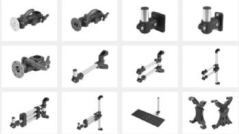 New range of monitor brackets and accessories