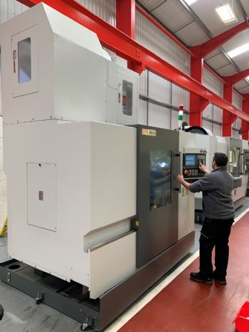 XYZ modifies machine with extended Z axis