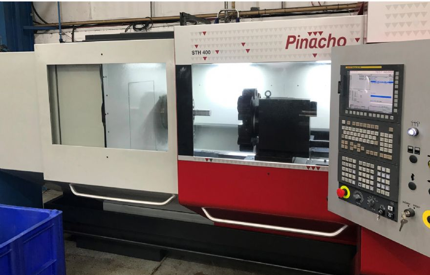 New Pinacho lathe installed and ready for action!