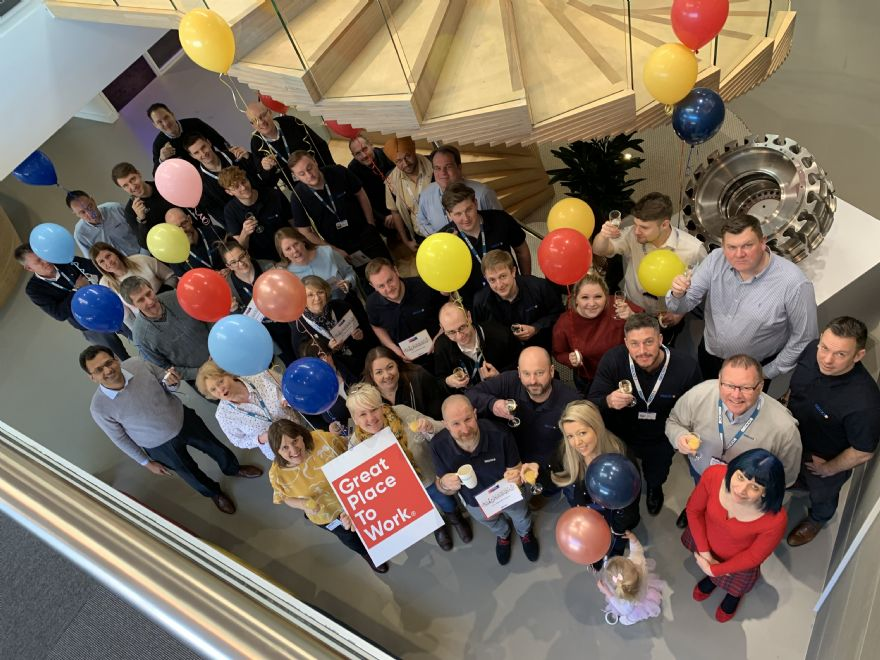 Seco Tools recognised as a Great Place to Work