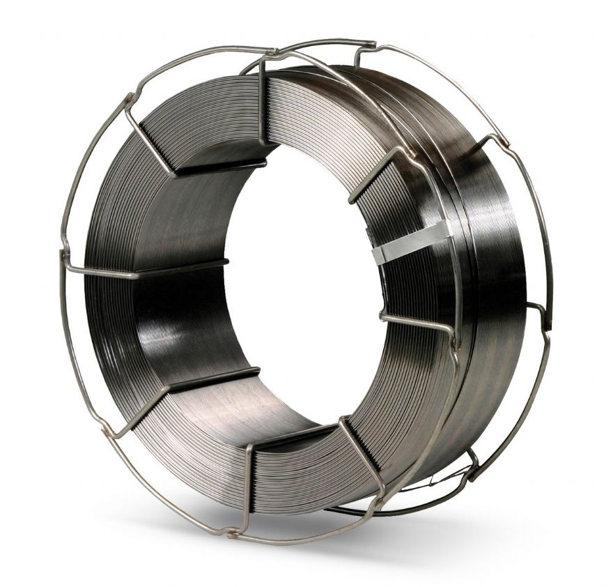 Metal-cored welding wire for high-strength steel