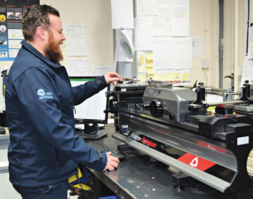 Fareham firm installs length-measuring machine