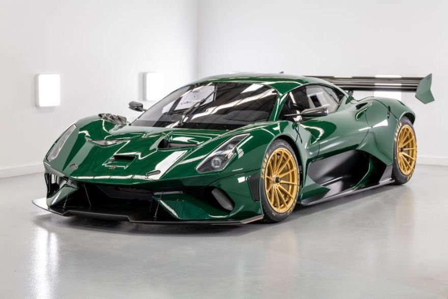First Brabham BT62 Competition model delivered