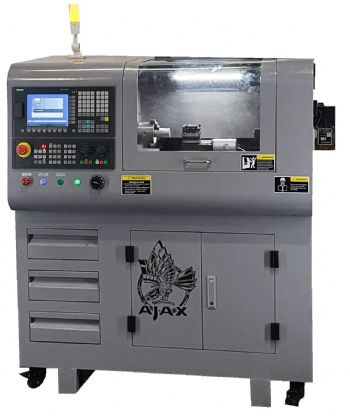 New compact CNC machines introduced by Ajax