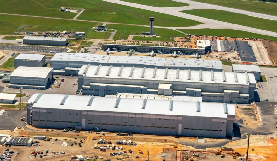 Airbus opens A220 production facility in USA