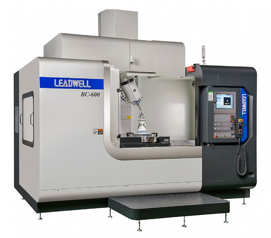New five-axis machining centre from Taiwan